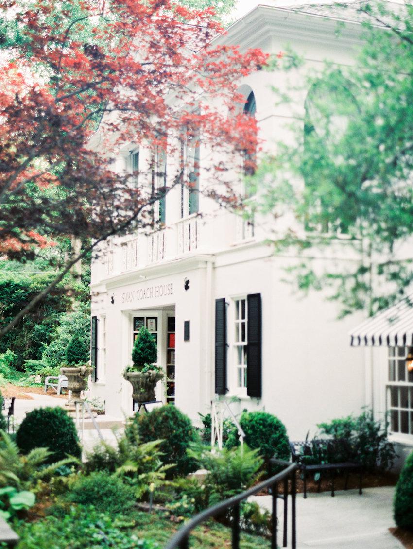 Swan Coach House Atlanta Wedding Venue