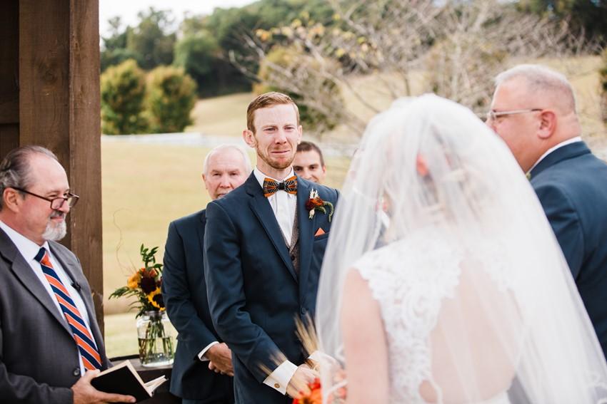 Rustic Vintage Wedding Ceremony