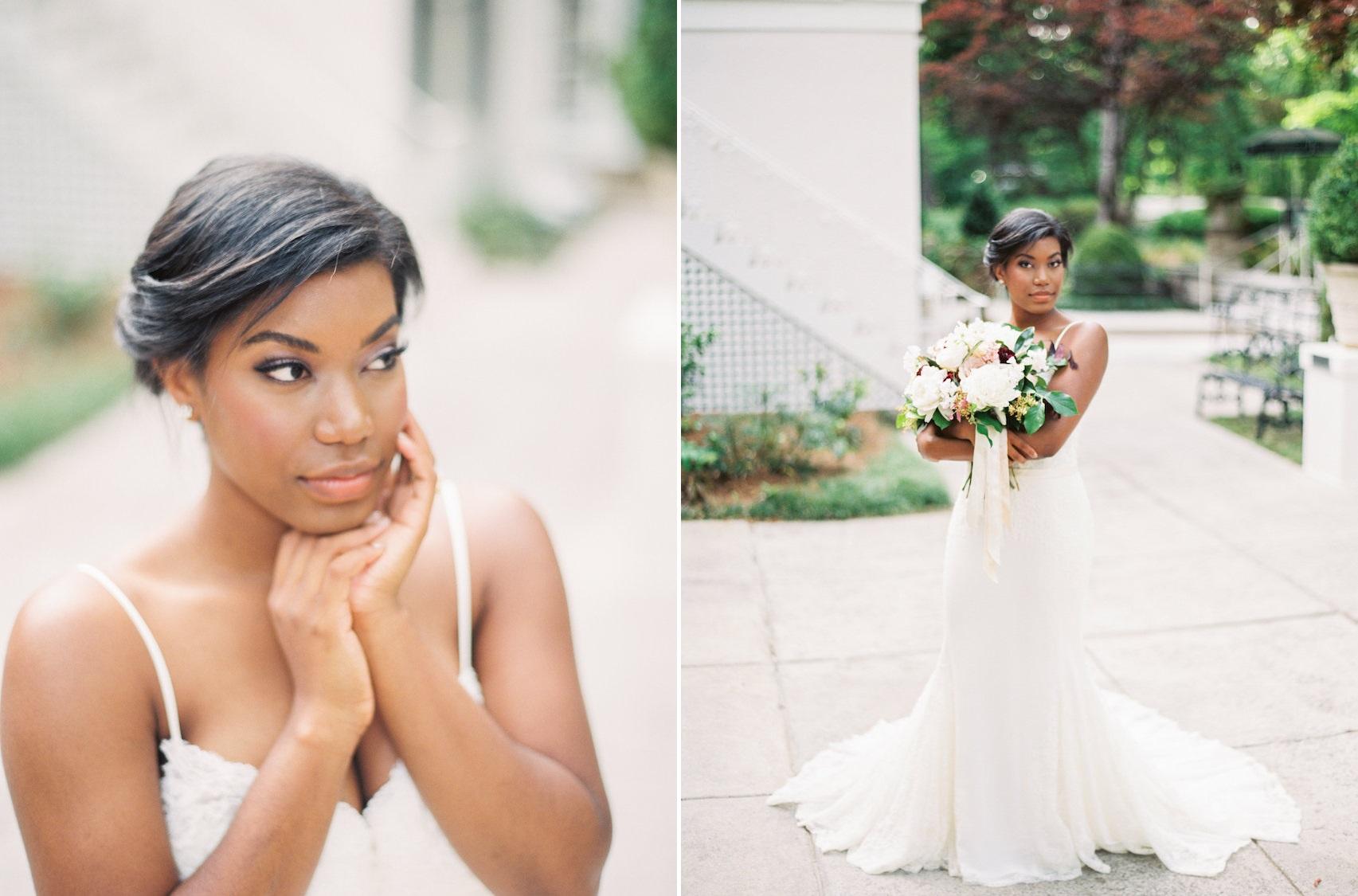 Beautiful Modern Vintage Bride