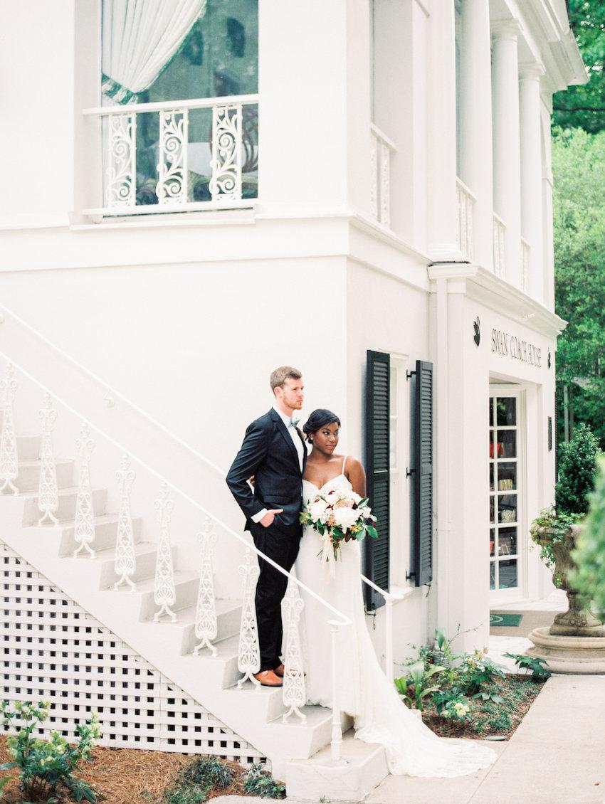 Swan Coach House Wedding Inspiration