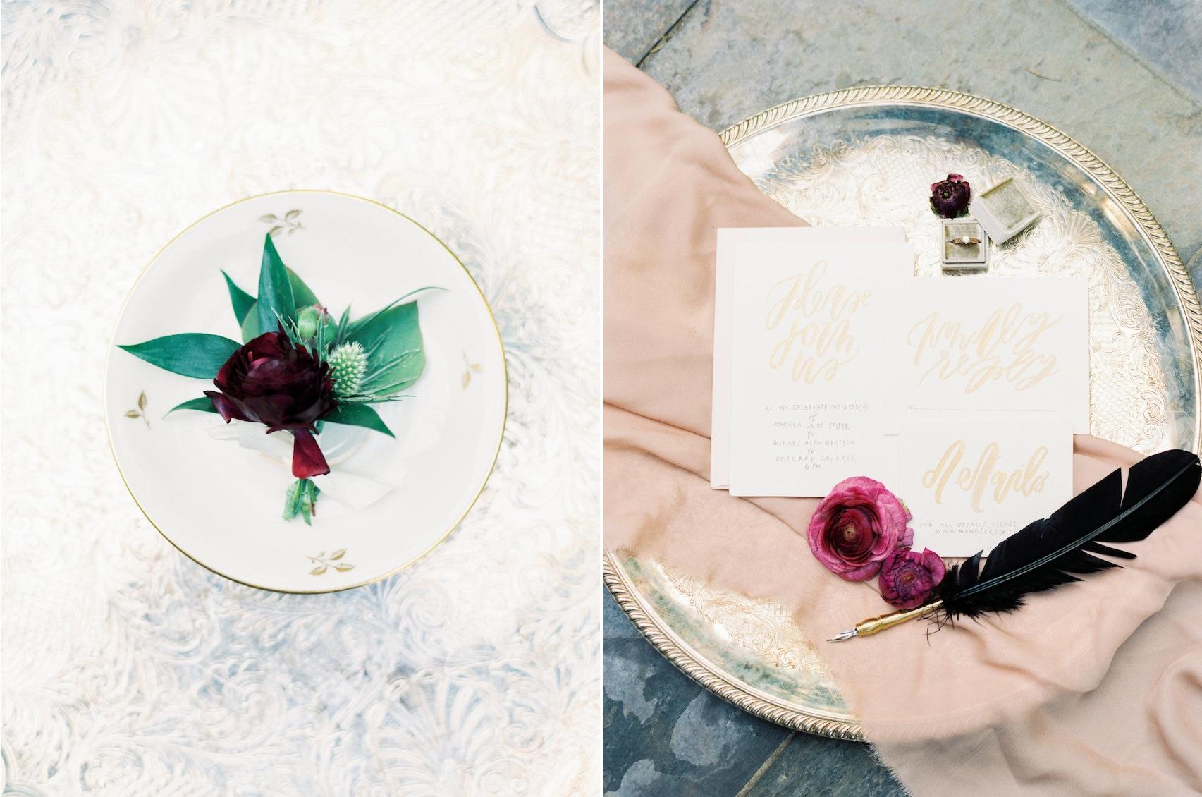 Marsala Wedding Flowers