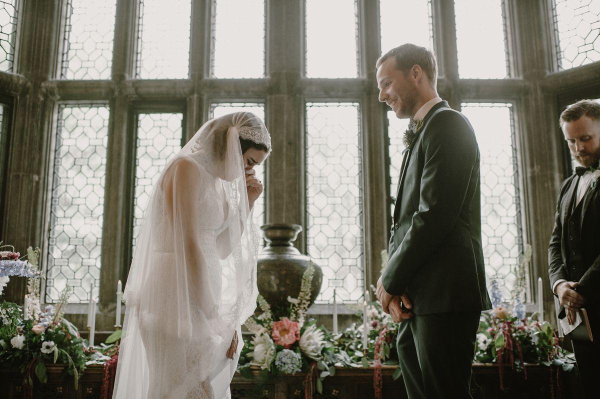 Emotional Vintage Wedding Ceremony
