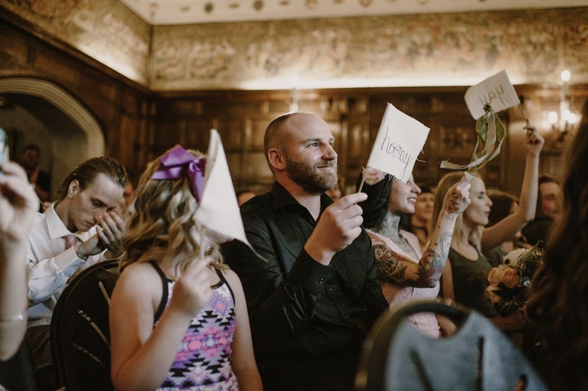 Wedding Guest Flags