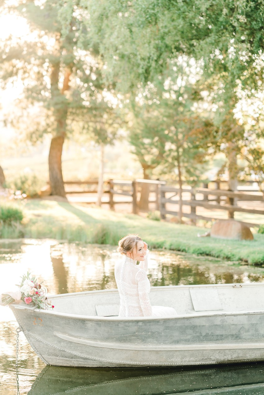 Romantic Lake Wedding