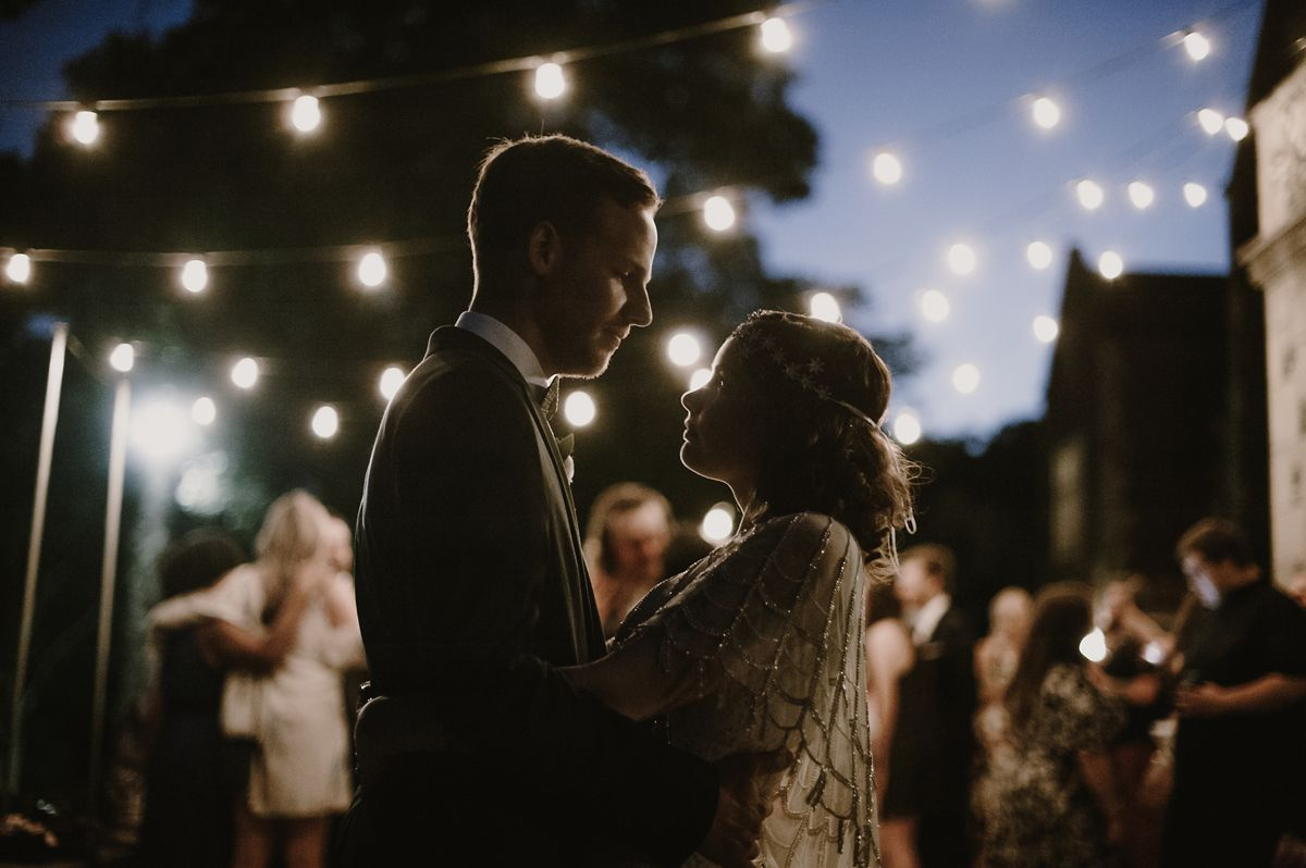 Vintage Wedding Party