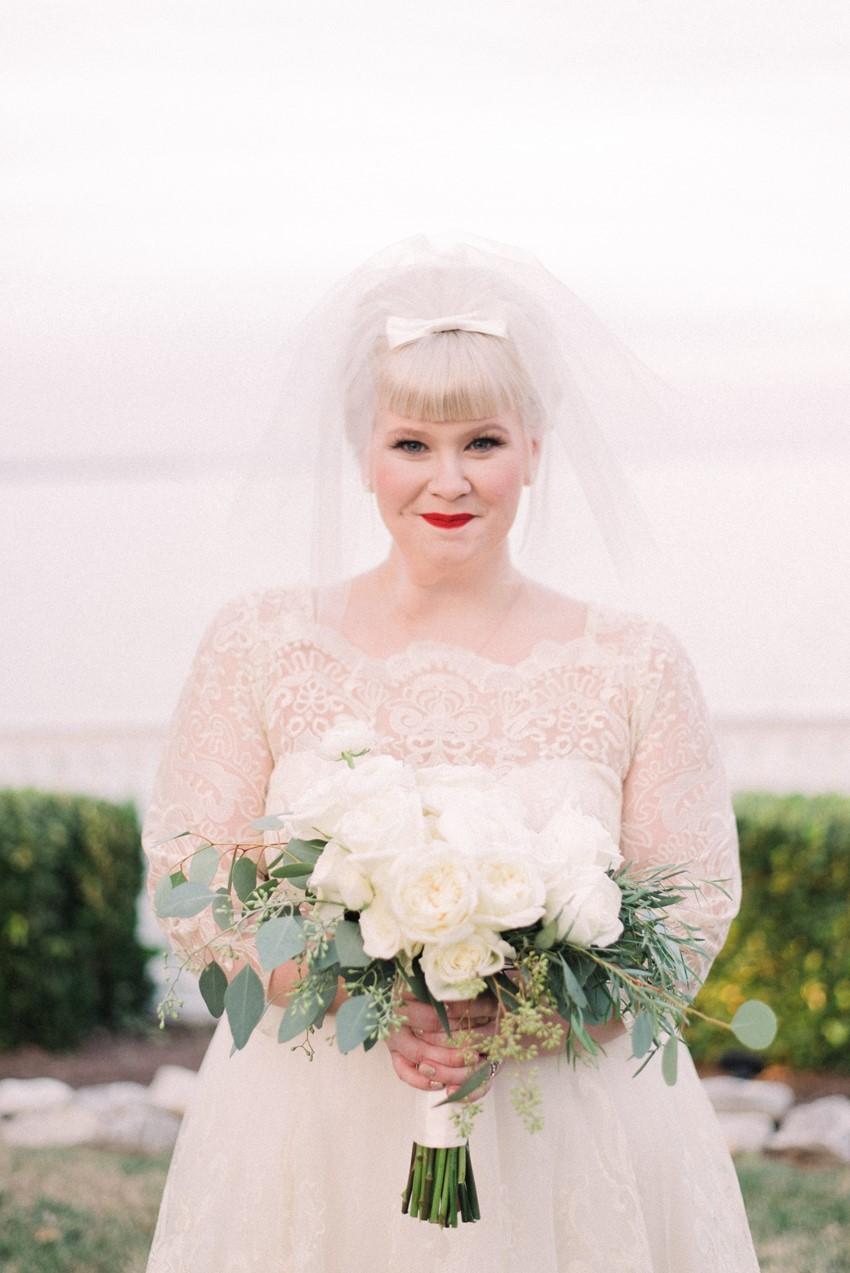 Mid Century Inspired Bride
