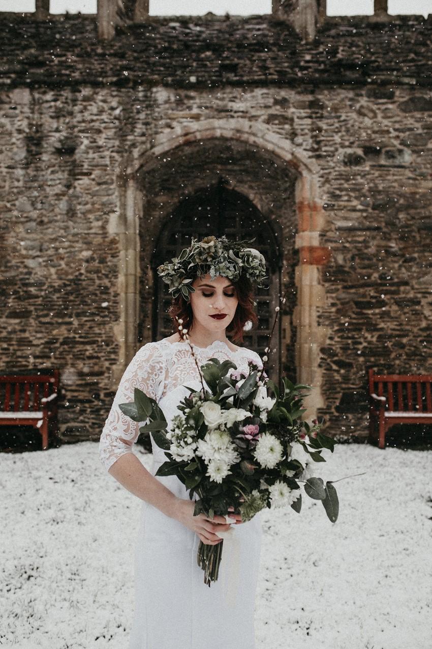 Greenery Bridal Crown