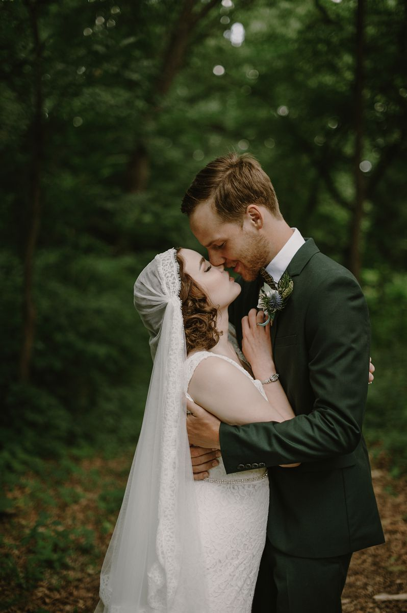 Vintage Bride & Groom Portraits