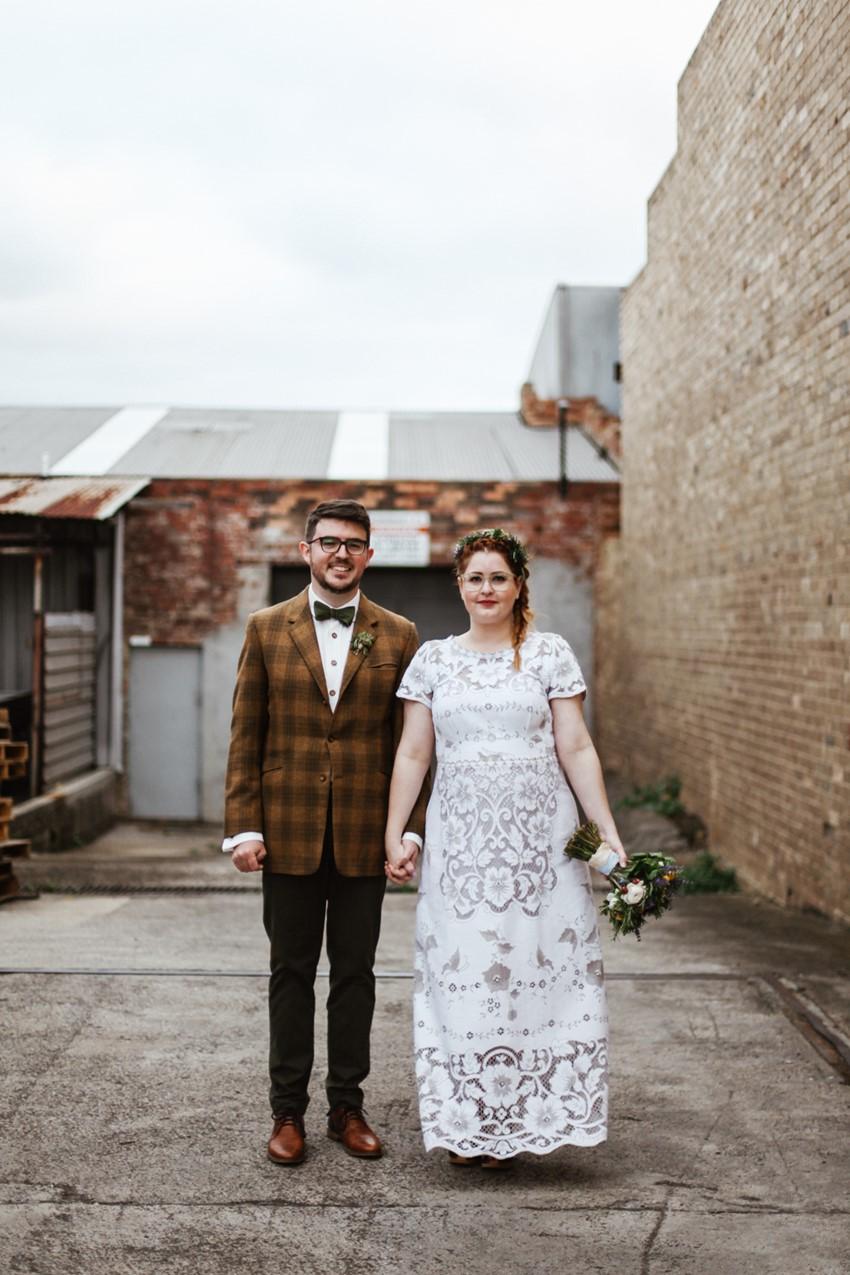 Lost in Paris Lace Wedding Dress