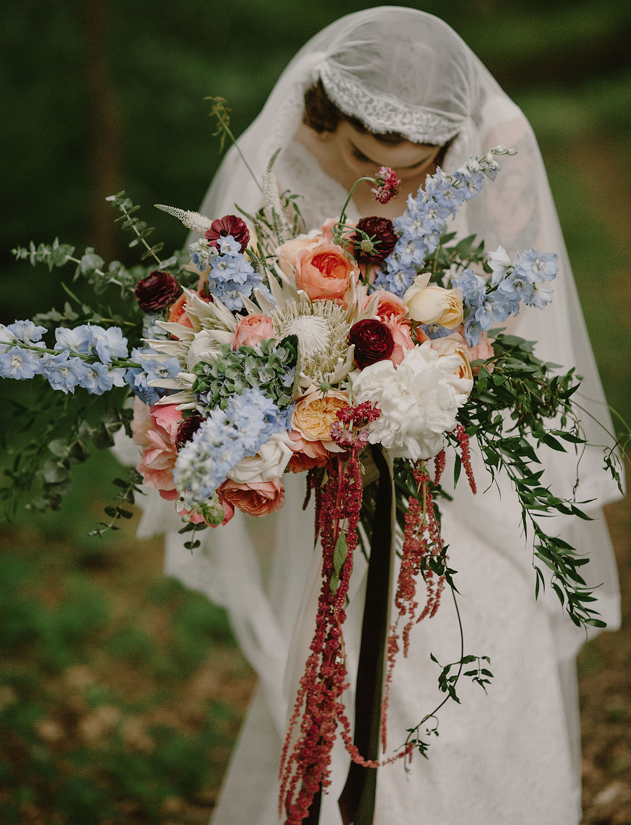 Lush Just Picked Vintage Bridal Bouquet