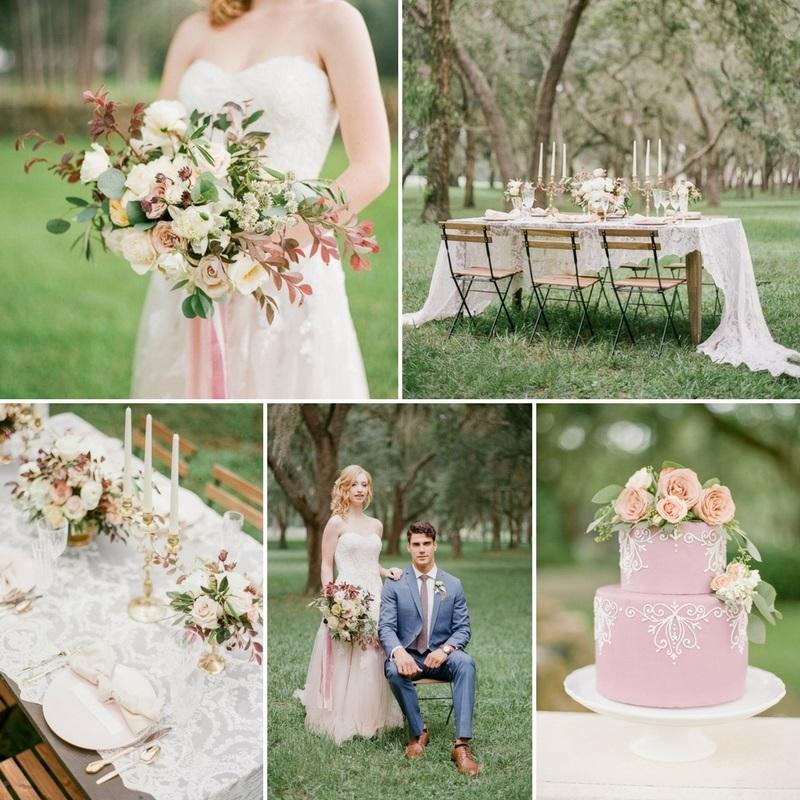 Romantic Spring Wedding Inspiration at Stonebridge Weddings