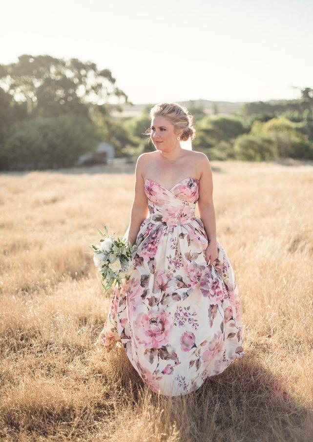 Wendy Makin Floral Wedding Dress
