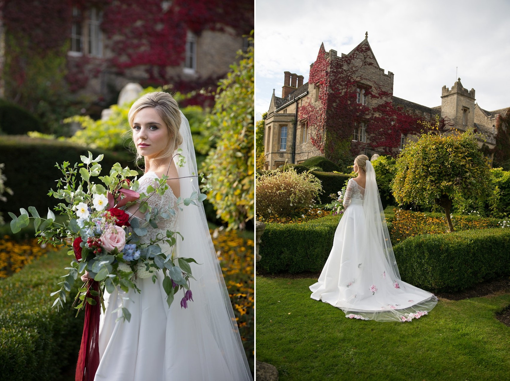 Fall English Manor Wedding Inspiration