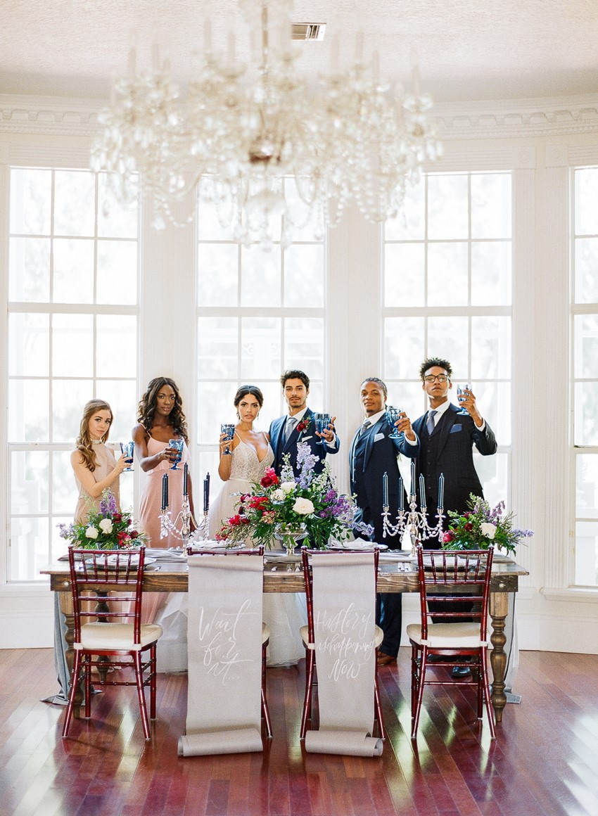 Hamilton Wedding Inspiration at Luxemore Grande Estate
