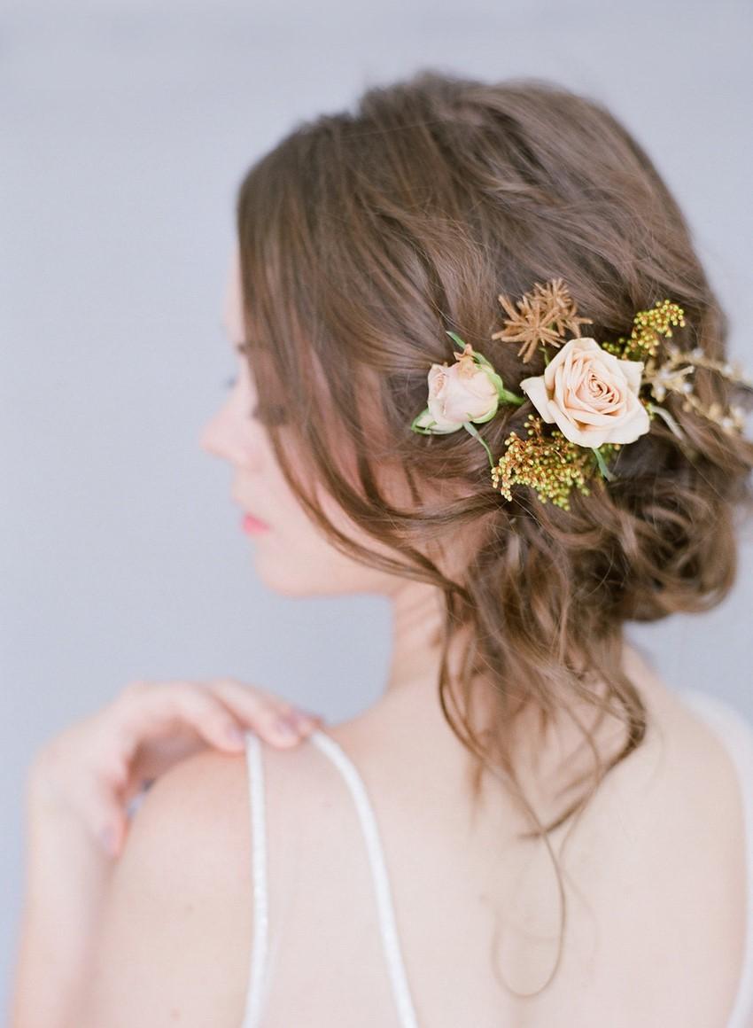 Floral Bridal Updo