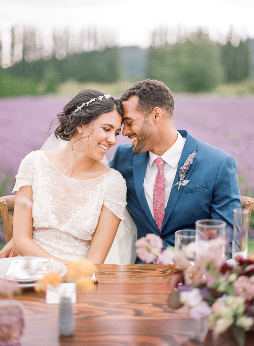 Woodinville Lavender Farm Wedding Inspiration