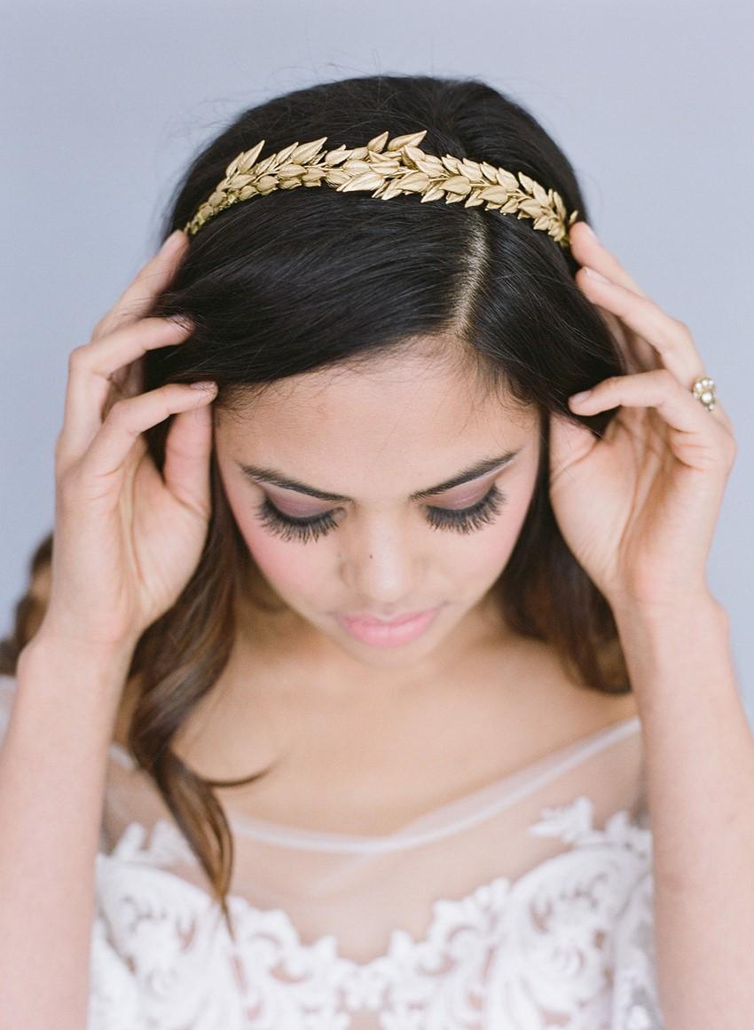 Gold Bridal Headpiece