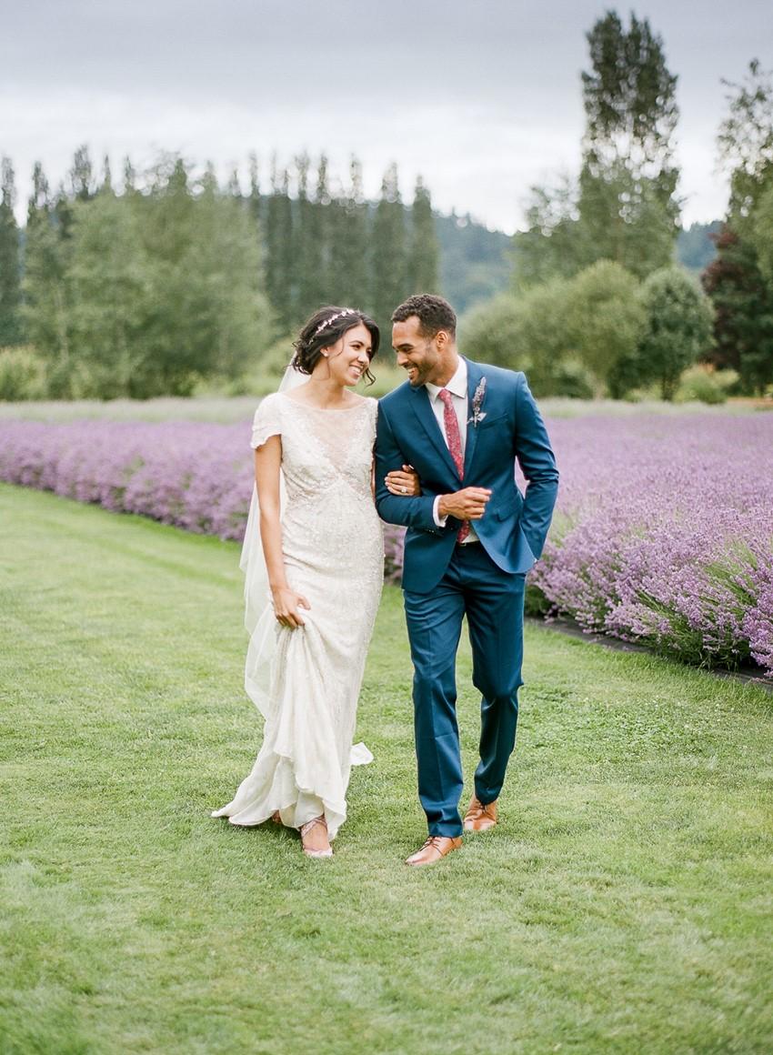 Woodinville Lavender Farm Wedding