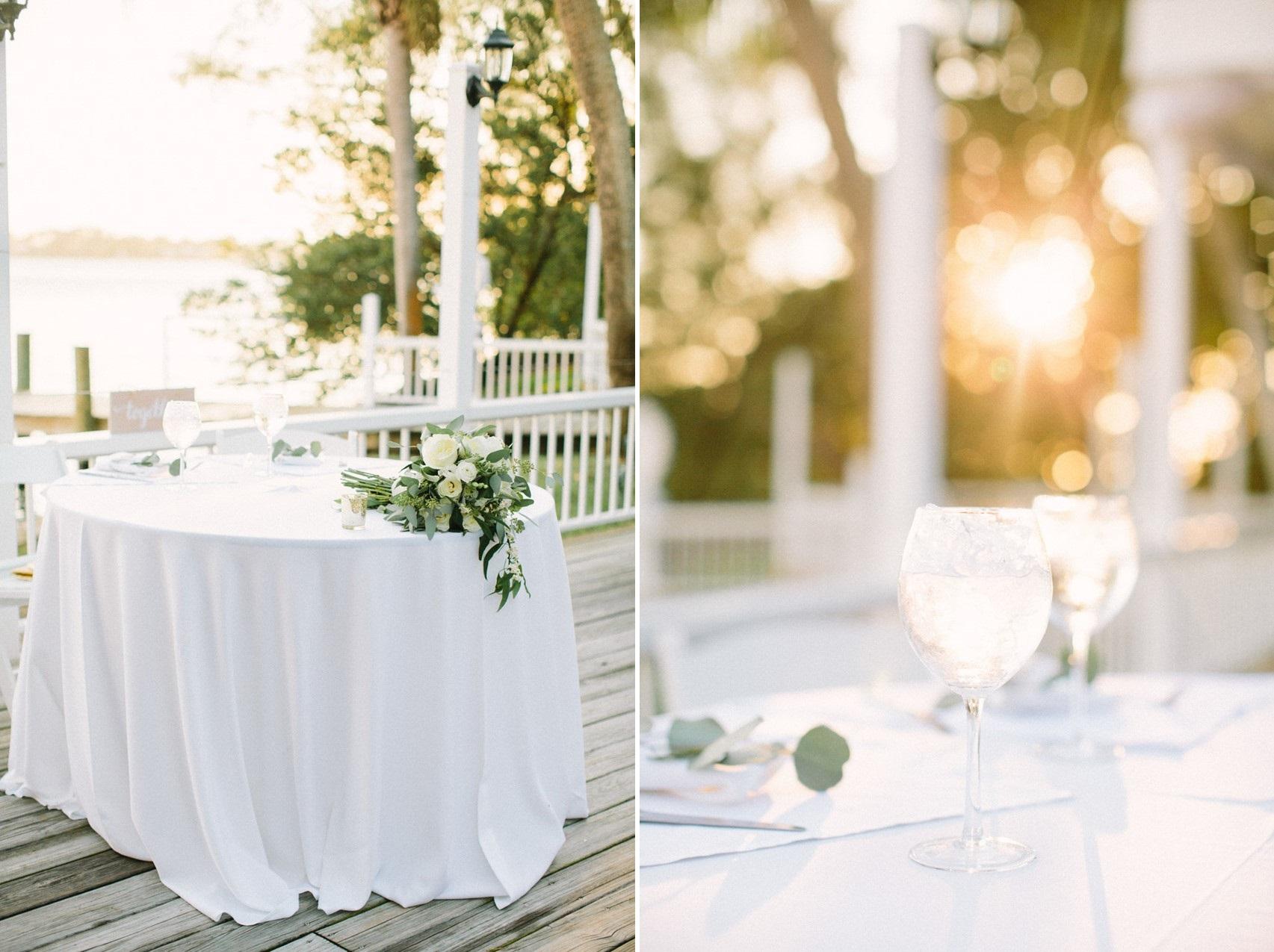 Lakeside Wedding Reception