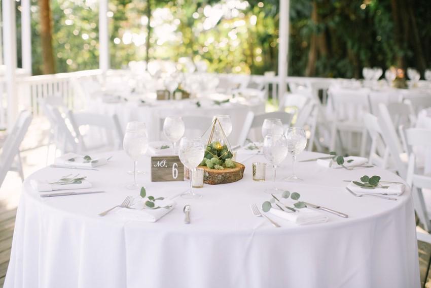 White Wedding Tables
