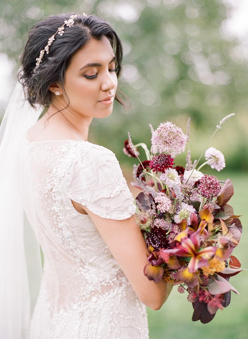 Fine Art Just Picked Bridal Bouquet