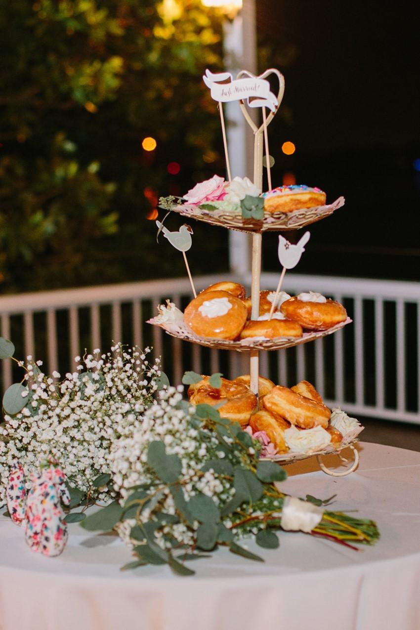 Donut Wedding Cake Tower