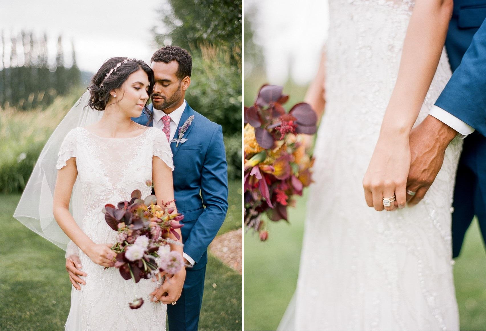 Woodinville Lavender Farm Wedding Inspiration