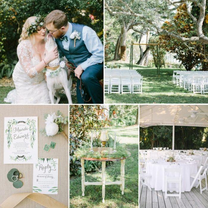 A Boho Vintage Garden Wedding