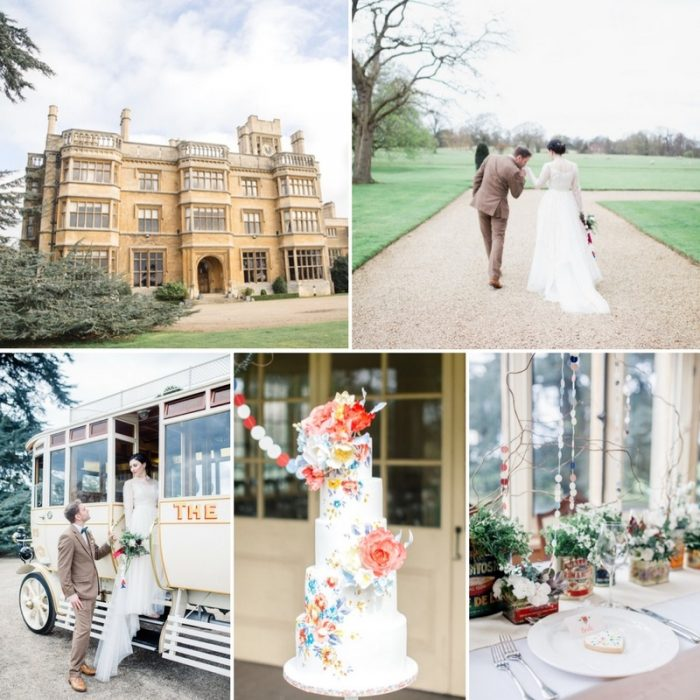 English Garden Wedding Inspiration at Shuttleworth Mansion