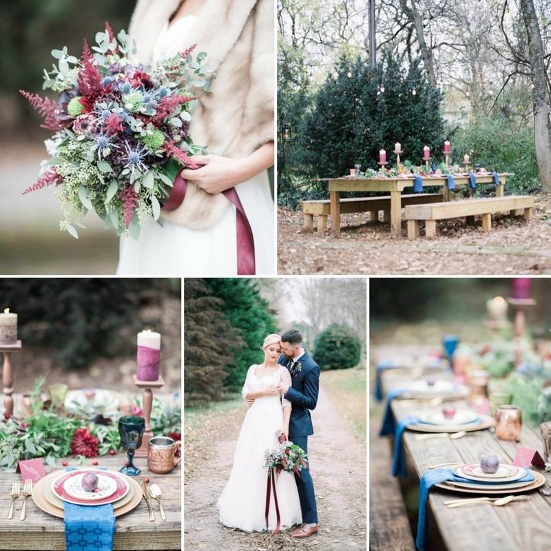 Farmhouse Winter Wedding Editorial