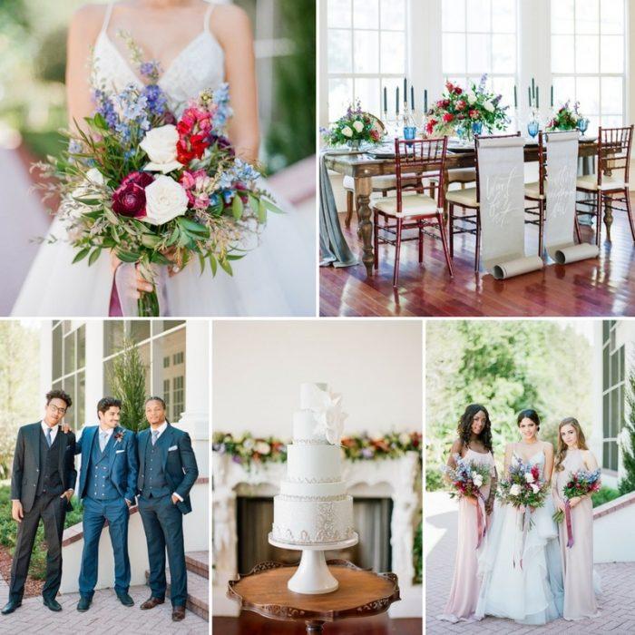 Romantic Hamilton Wedding Inspiration at Luxemore Grande Estate