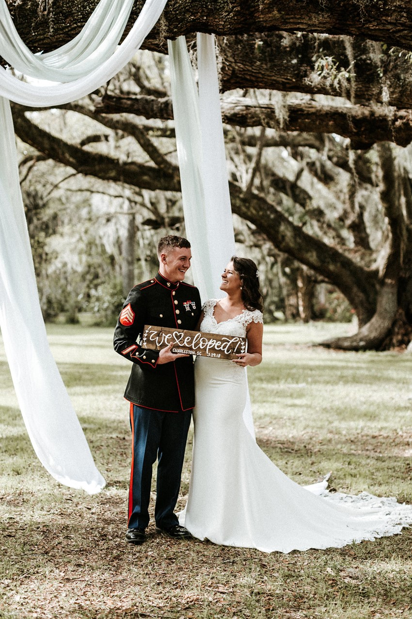 Magnolia Plantation Elopement