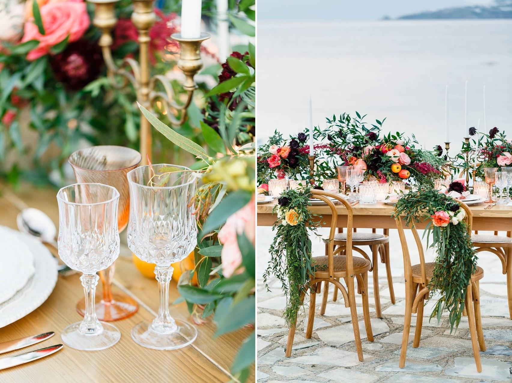 Mykonos Wedding Table