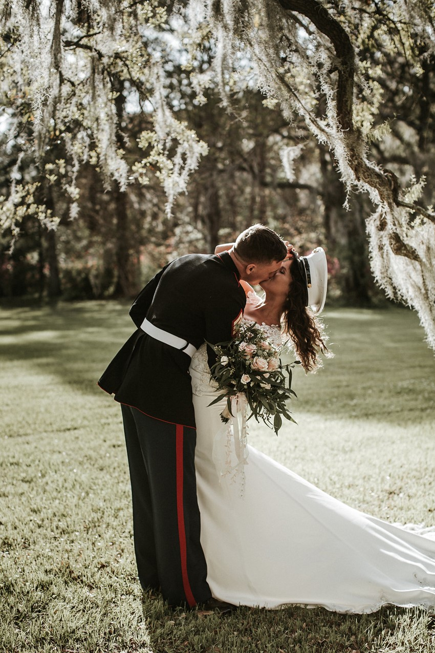 Military Wedding Portraits