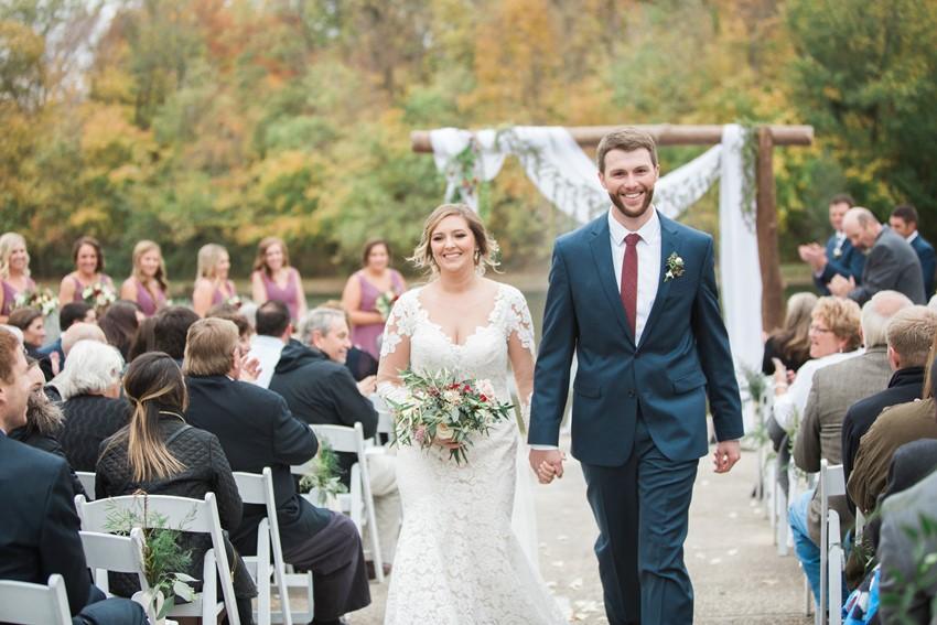 Hidden Lake Winery Wedding