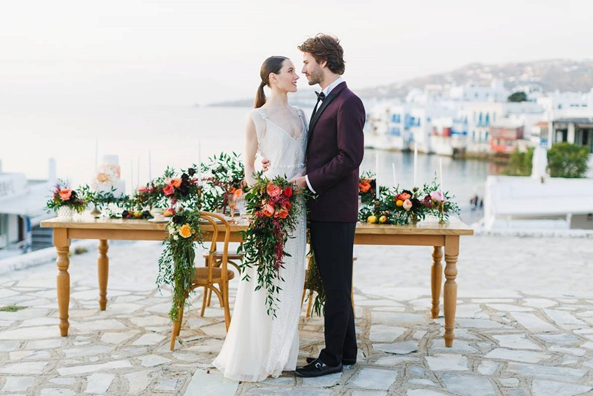 Mykonos Greece Wedding Inspiration