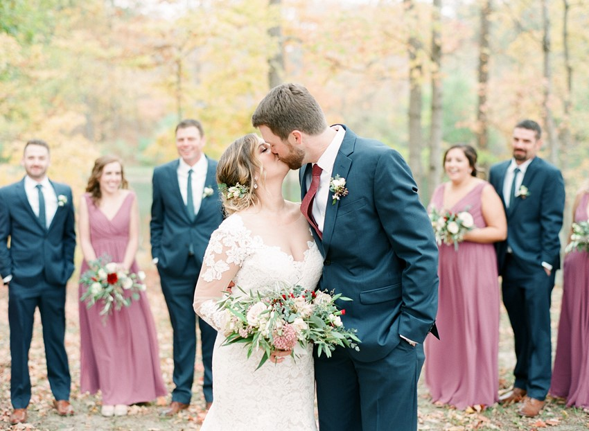 Hidden Lake Winery Wedding