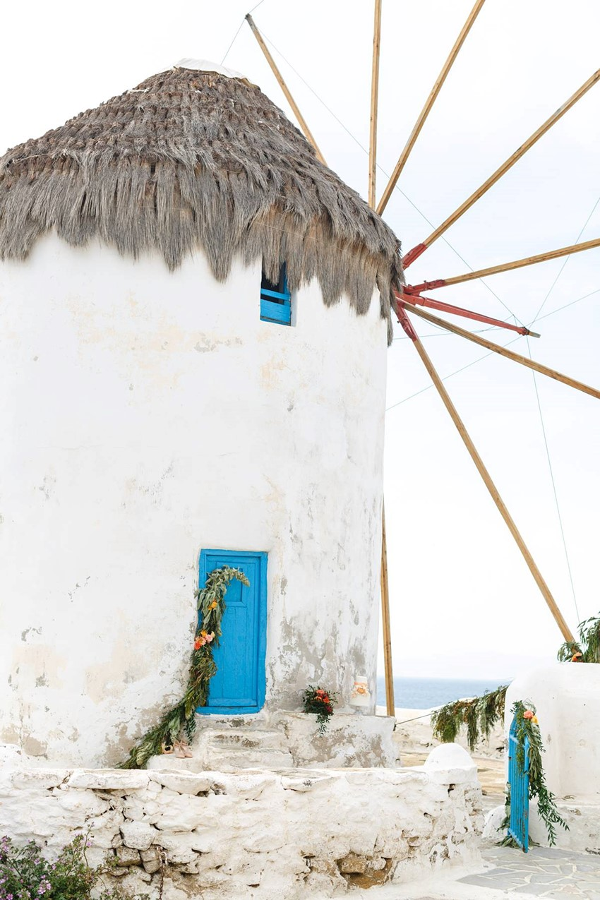Mykonos Wedding Inspiration