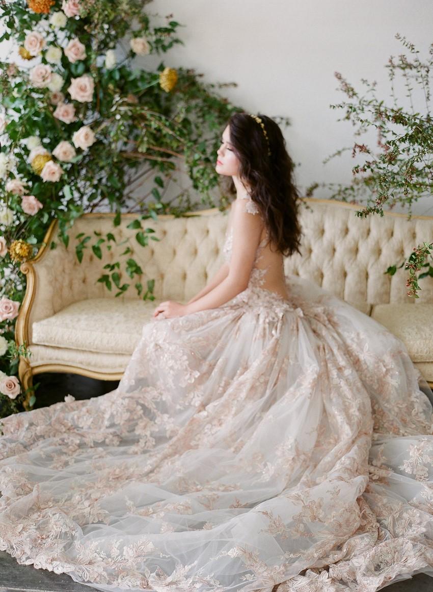 Spring Blush Bride