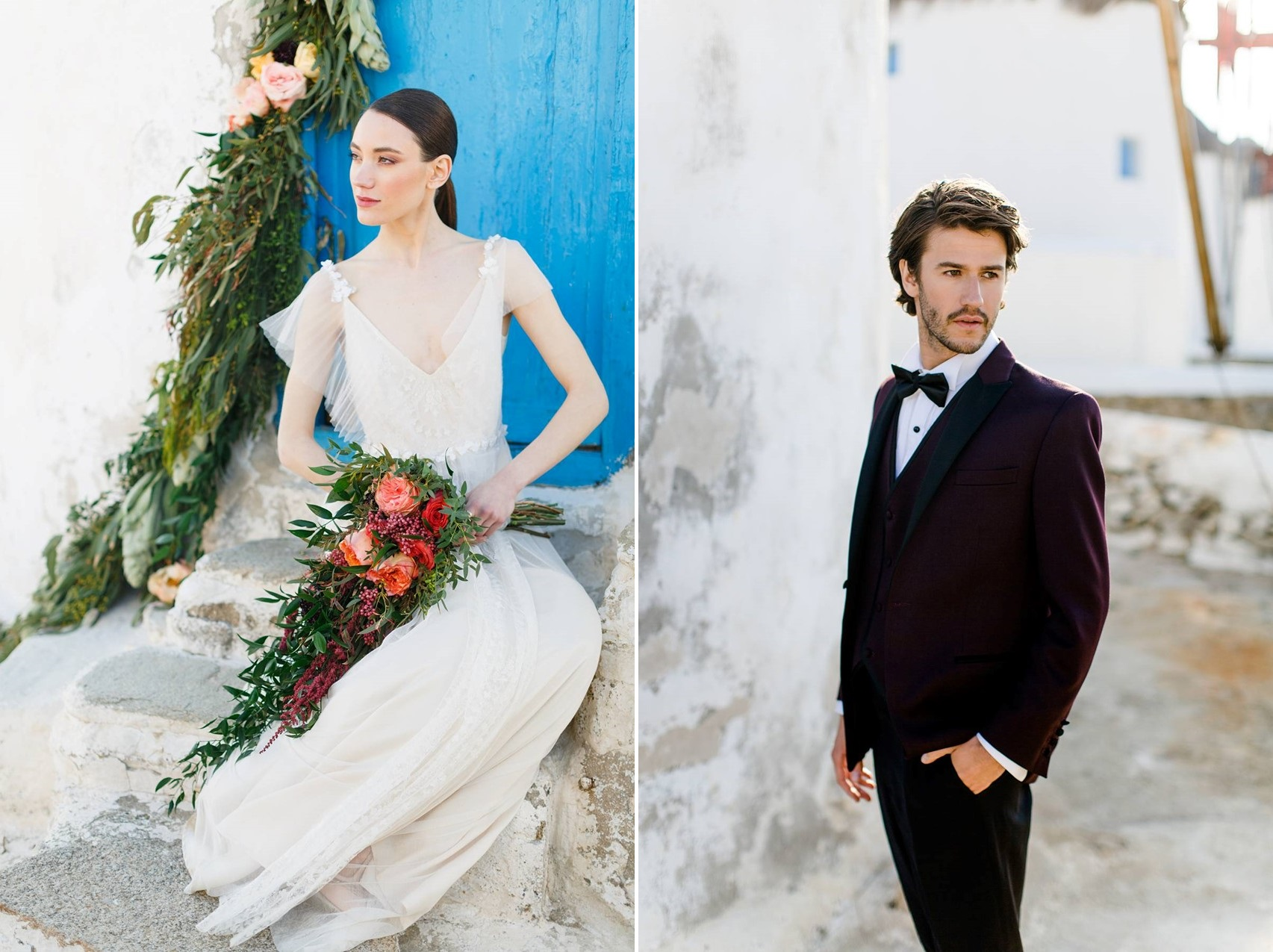 Mykonos Greece Wedding Inspiration