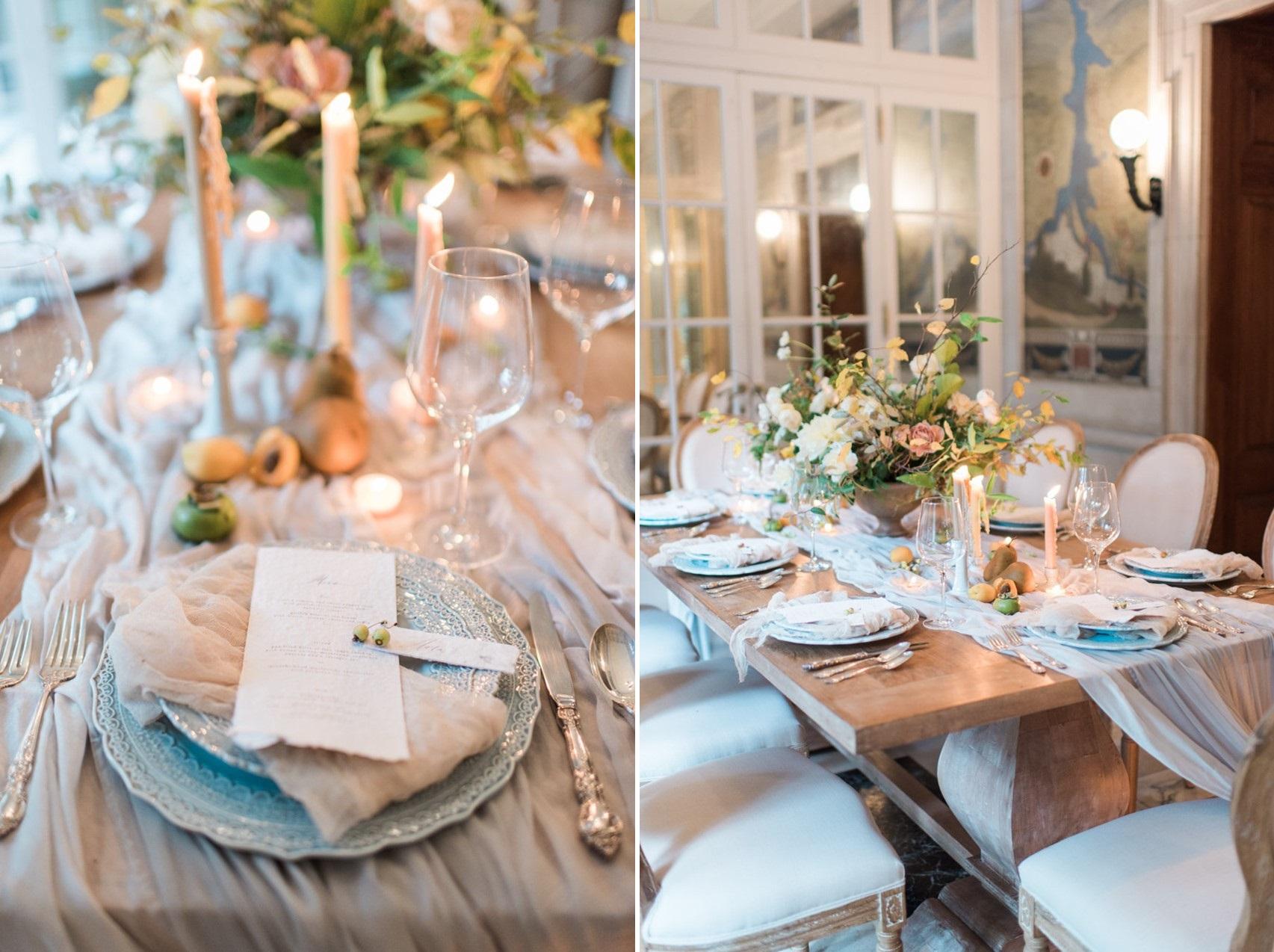 Elegant Regal Wedding Table