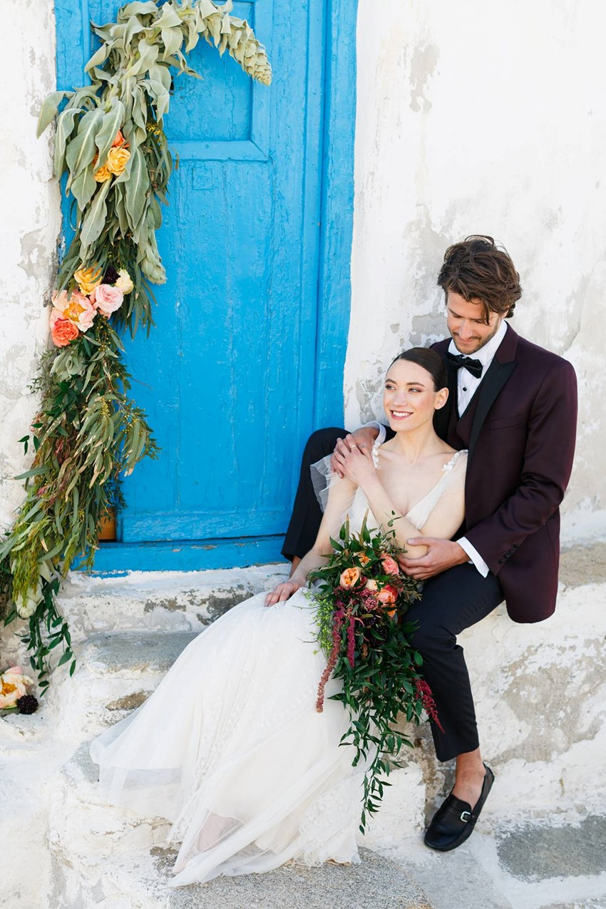 Mykonos Wedding Inspiration