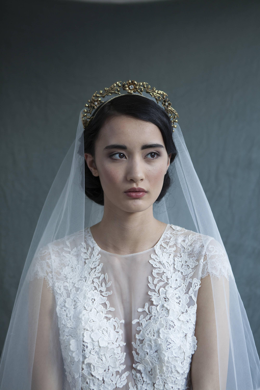 Art Nouveau Bridal Crown