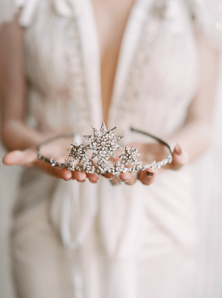 Constellation Bridal Crown