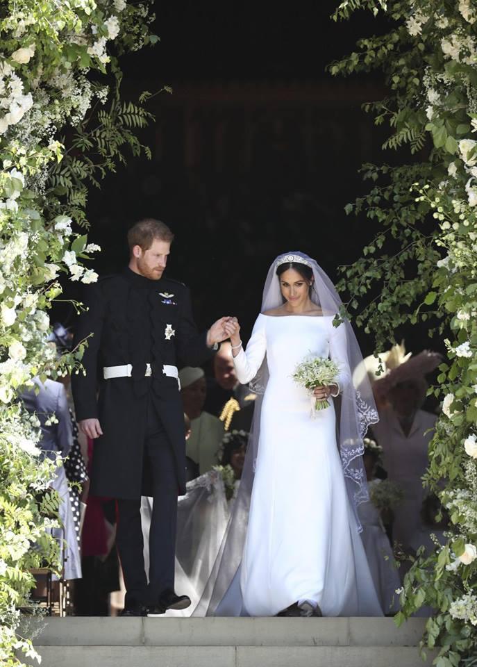Meghan Markles Wedding Veil