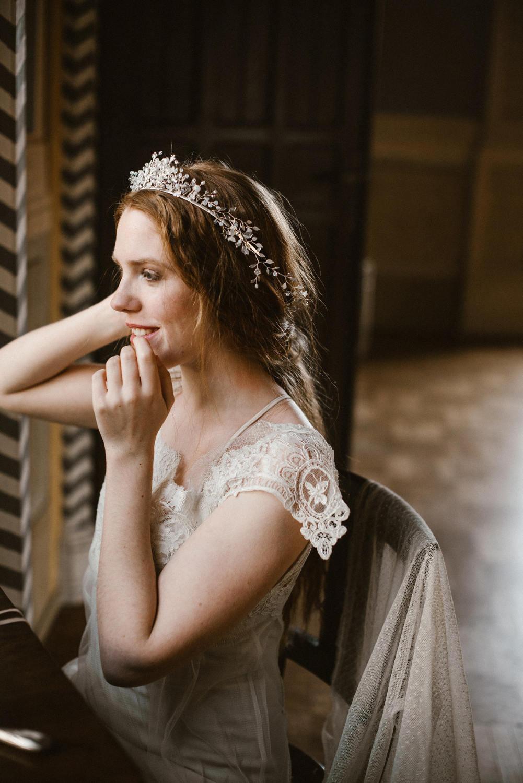 Lophelia Bridal Tiara
