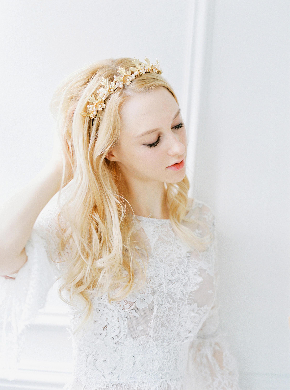 Maple Leaf Bridal Tiara