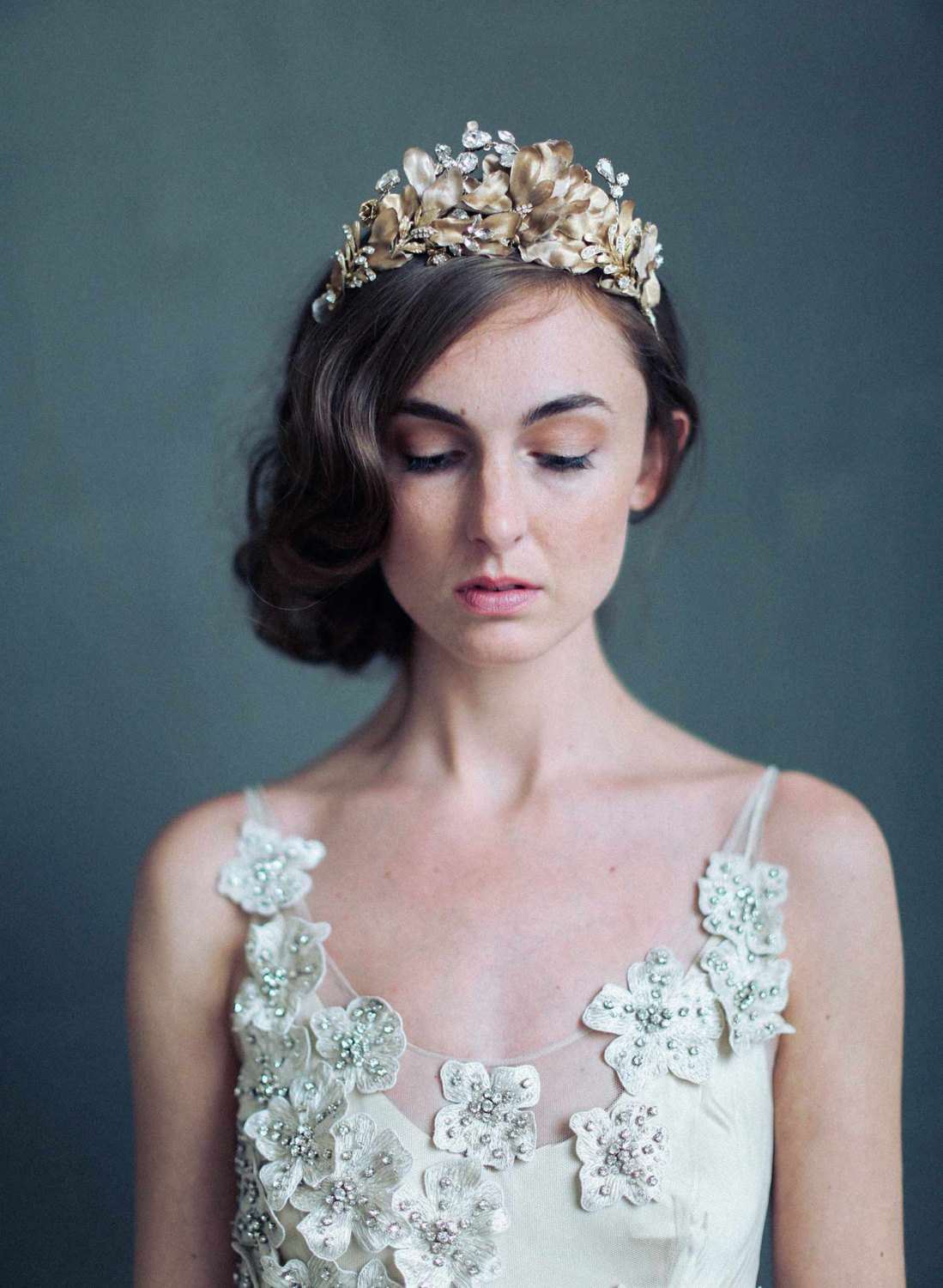 Regal Bridal Crown