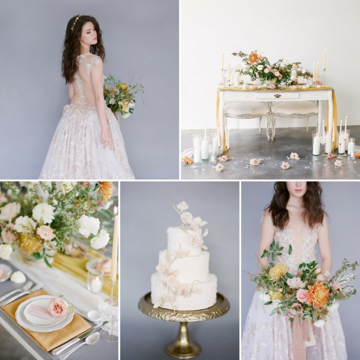 Romantic Fine Art Bridal Editorial