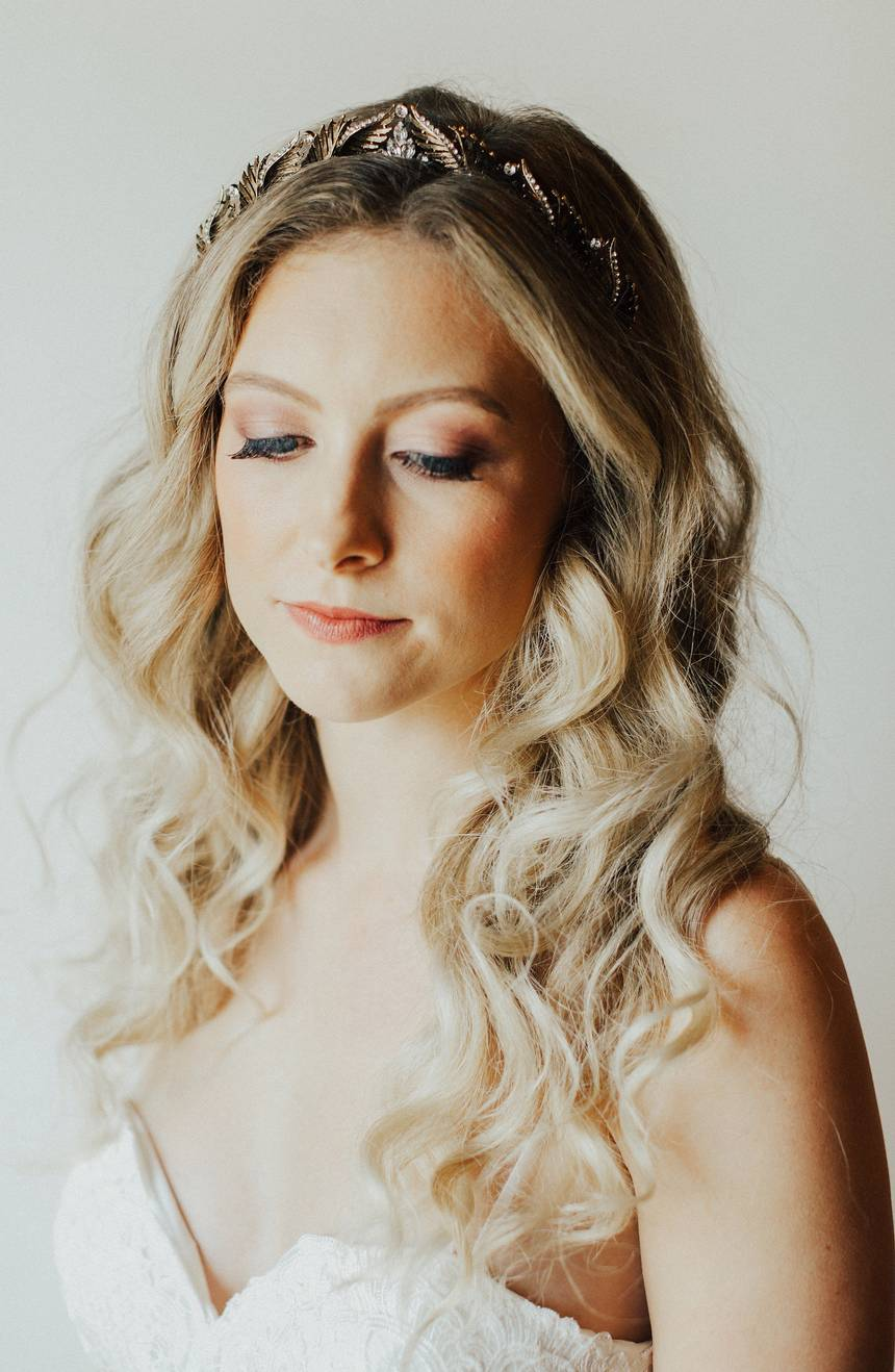 Boise Bronze Bridal Crown
